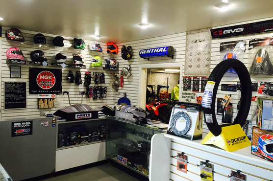 Riderz Inc. Show Room